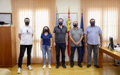 El Ayuntamiento de l'Alfàs renueva el convenio de colaboración con la asociación empresarial COEMPA