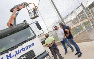 El Ayuntamiento de l'Alfàs pone en marcha la remodelación del campo de fútbol 11 de l'Albir
