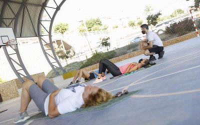 Talleres de Espalda Sana, Baile, krav Magá y Yoga en la Semana de la Salud de l'Alfàs