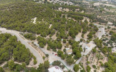 La Diputación de Alicante invertirá cerca de 200.000 en la reparación de un camino en el entorno del Captivador