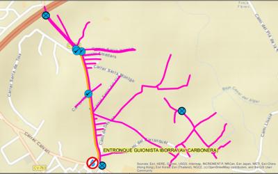 Mañana martes 13 de julio corte de agua programado en la Avenida Carbonera