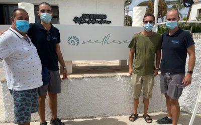 La velada solidaria organizada en See the Sea reúne 500 euros para el Voluntariado Social de l'Alfàs
