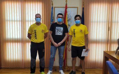 L'Alfàs renueva su colaboración con la asociación humanitaria USAR-13