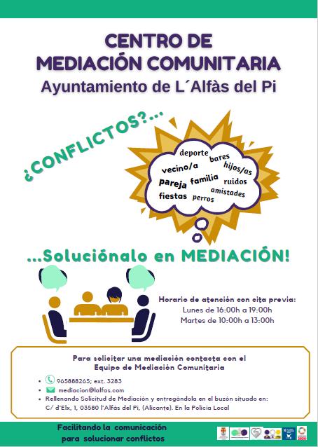 L'Alfàs apuesta por continuar ofreciendo un servicio de mediación gratuito
