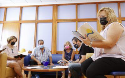 El Voluntariado Social presenta su memoria anual en el Ayuntamiento de l'Alfàs