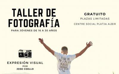 Últimos días para inscribirse en el taller gratuito de introducción a la fotografía que lanza Juventud