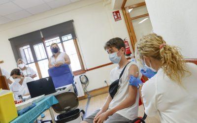 El punto de vacunación del Hogar del Pensionista de l'Alfàs abrirá también mañana viernes