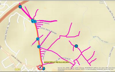 Aviso corte de agua en Avenida Carbonera mañana miércoles 4 de agosto de 09.00 a 11.00 horas
