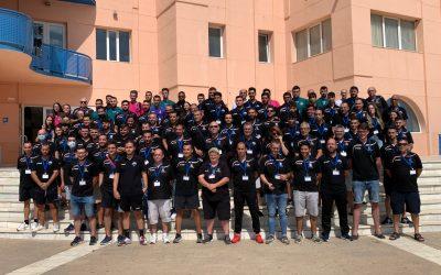 Cien árbitros de Balonmano de toda la Comunidad Valenciana se reúnen en el l'Alfàs del Pi antes del inicio de la temporada