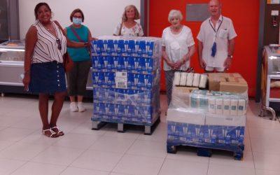 El club británico CHUMS realiza una nueva donación al Voluntariado Social de l'Alfàs del Pi