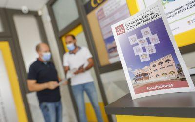 L'Alfàs abre el plazo de inscripción para los cursos y talleres de la Casa de Cultura