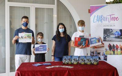 Juventud entrega los premios de L'Alfàs Party Online