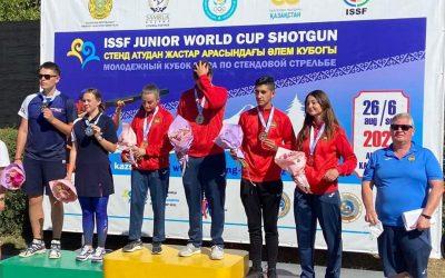 Paula Morcillo Bronce en la Copa del Mundo de Tiro celebrada en Kazajistán