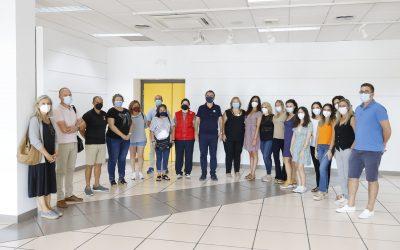 L'Alfàs agradece el trabajo desempeñado por el equipo de vacunación durante la pandemia