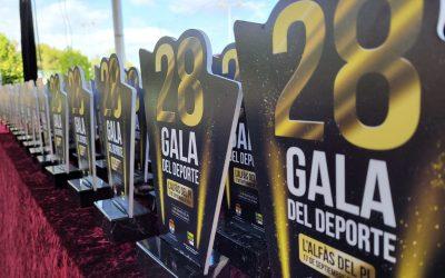 L'Alfàs del Pi  premia a los mejores deportistas locales y los mejores clubes en su vigésimo octava Gala del Deporte