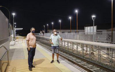 El Ayuntamiento de l'Alfàs va a instalar una cámara de vigilancia en el apeadero del Tram de l'Albir